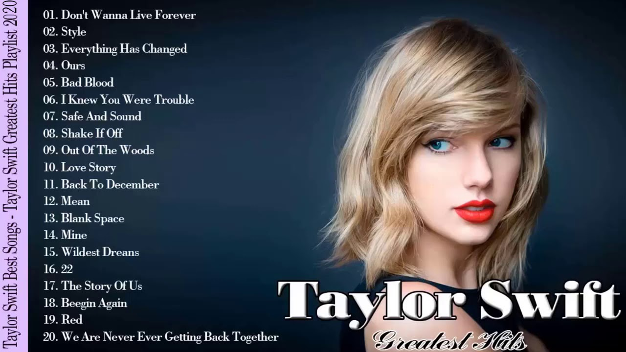 Taylor Swift Greatest Hits Taylor Swift Greatest Hits Playlist Youtube