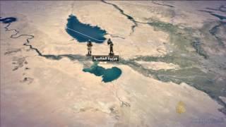 خريطة المعارك بين القوات العراقية وتنظيم الدولة