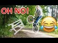 Grandpa Tries To Learn How To Bunny Hop BMX