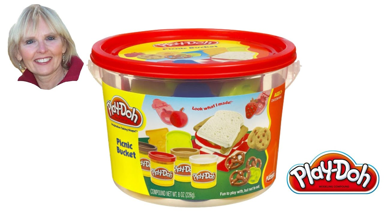 Play Doh Picnic Mini Bucket Youtube