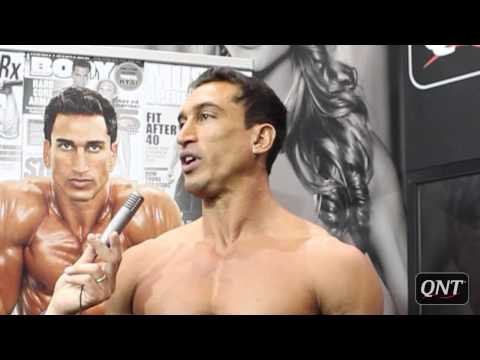 Diego Sebastian - Official interview at Body Fitness Form'Expo 2013, Paris.
