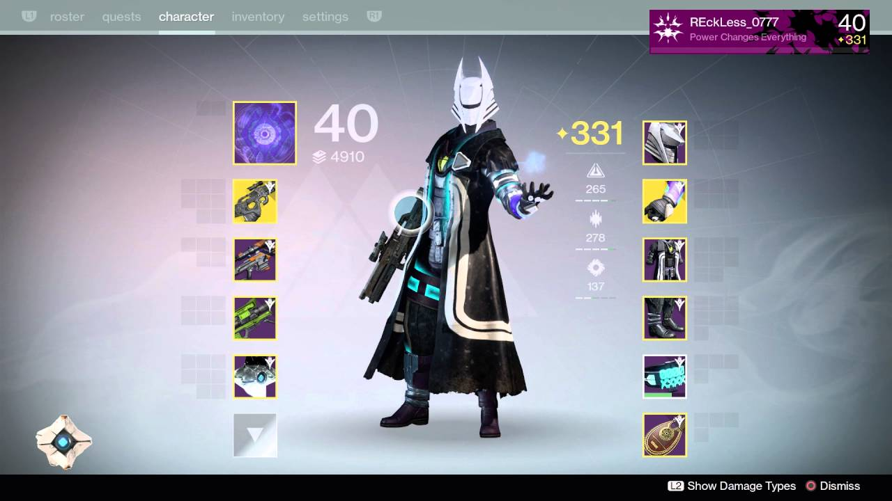 Destiny Stormcaller Warlock Best Build