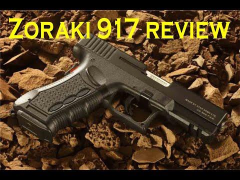 Zoraki 917 review - Glock 17 (English)