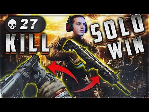 CoD Blackout | 27 Kills Rampart/Mog Solo Win