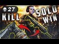 CoD Blackout | 27 Kills Rampart/Mog Solo Win