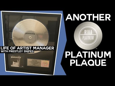 Life of Artist Manager: Another Platinum Plaque Unboxing