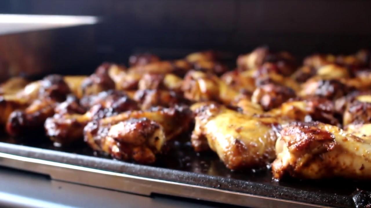 Chicken Gasgrill : Bbq chicken wings vom gasgrill youtube