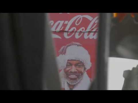 Coca-Cola Christmas Truck In Nigeria #BeSanta
