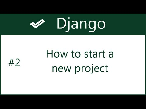 2 | How to start a new project in Django | by Hardik Patel