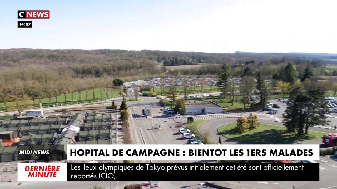 L'hôpital militaire est prêt à Mulhouse