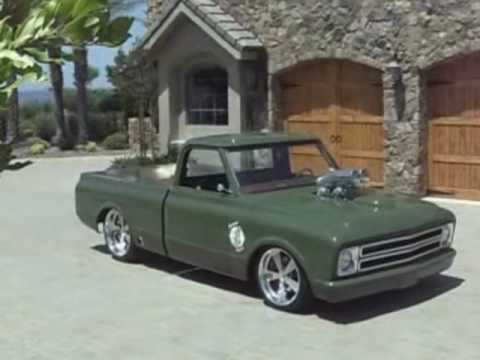 1967 Chevy C 10 Custom Pick Up Show Winner Cover Truck