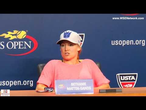 Bethanie Mattek-Sands ~ U.S. Open 2015 2nd Round~ Sept.2, 2015