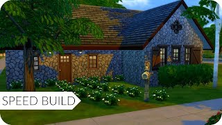 Stone Cottage  - Sims 4 Speed Build