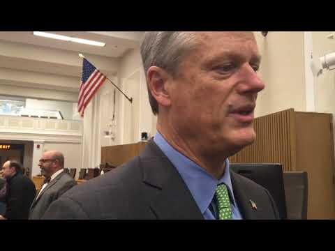 Massachusetts Gov. Charlie Baker weighing bilingual bill on his desk