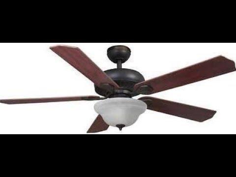 Harbor Breeze Crosswinds Ii Ceiling Fan Youtube