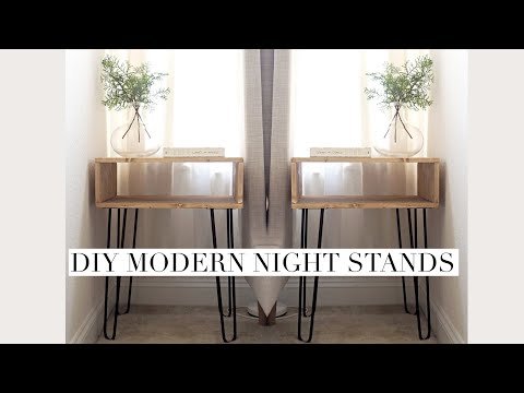 DIY Night Stands | Project Vlog