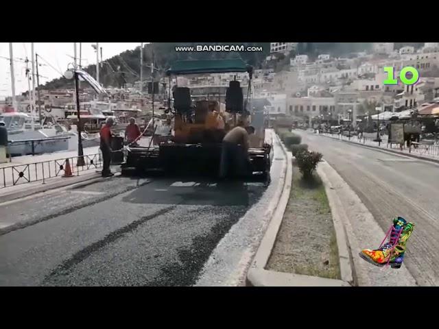 Στη σατυρική εκπομπή του  «Ράδιο Αρβύλα» και ρεπορτάζ με ασφαλτοστρώσεις του kalymnos-news.gr