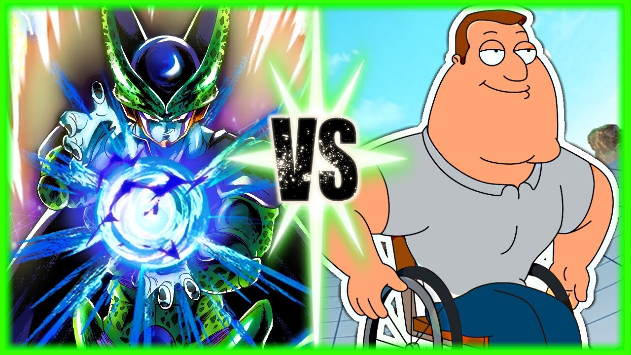 Perfect Cell Vs Joe Swanson (Sprite Fight) - download from YouTube for free