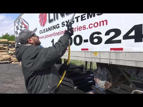 Power Wash Trailer Mobile Soft Wash System