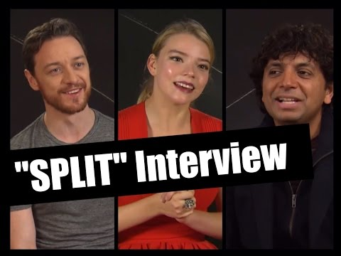"Interview ""SPLIT"": possible sequel, bad audition & being scary"