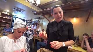 Рим: Едим сырые грибы и встреча с Папой Римским