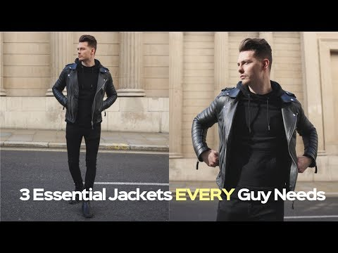 Mens Fashion Lookbook 2019 - 3 Easy Outfits For Winter