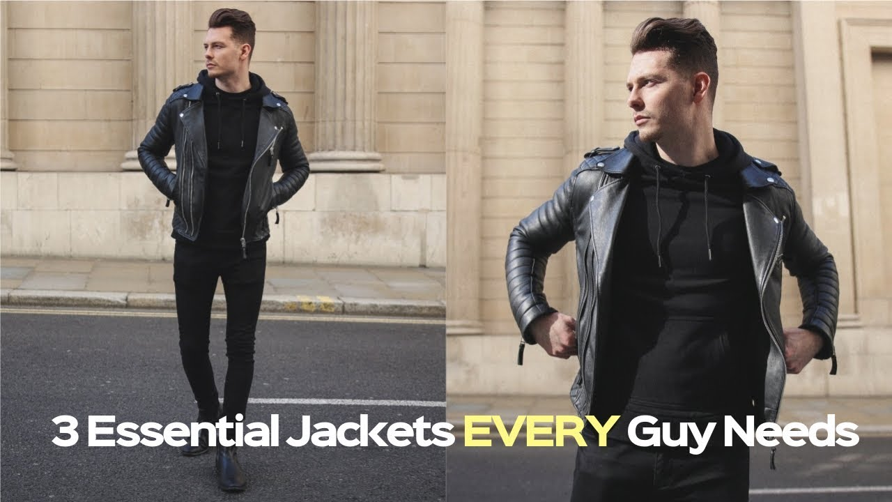[VIDEO] - Mens Fashion Lookbook 2019 - 3 Easy Outfits For Winter 9