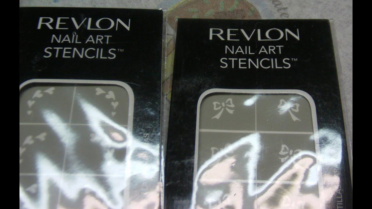 Revlon nail stencils review youtube revlon nail stencils review prinsesfo Gallery