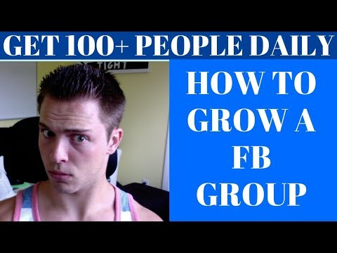 How To Build a HUGE FB Group To Make Money Affiliate Marketi