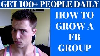How To Build a HUGE FB Group To Make Money Affiliate Marketing (Affiliate Marketing Case Study #2)