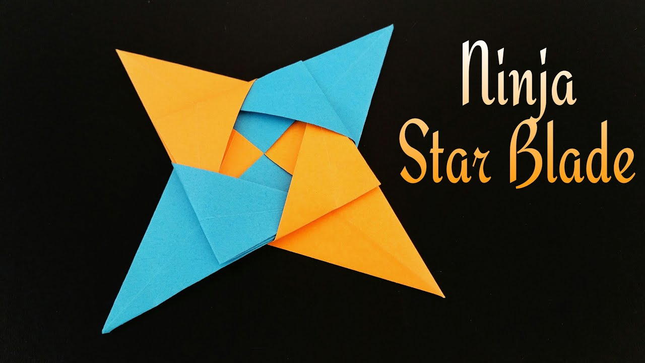 Pointed Star Paper Craft
