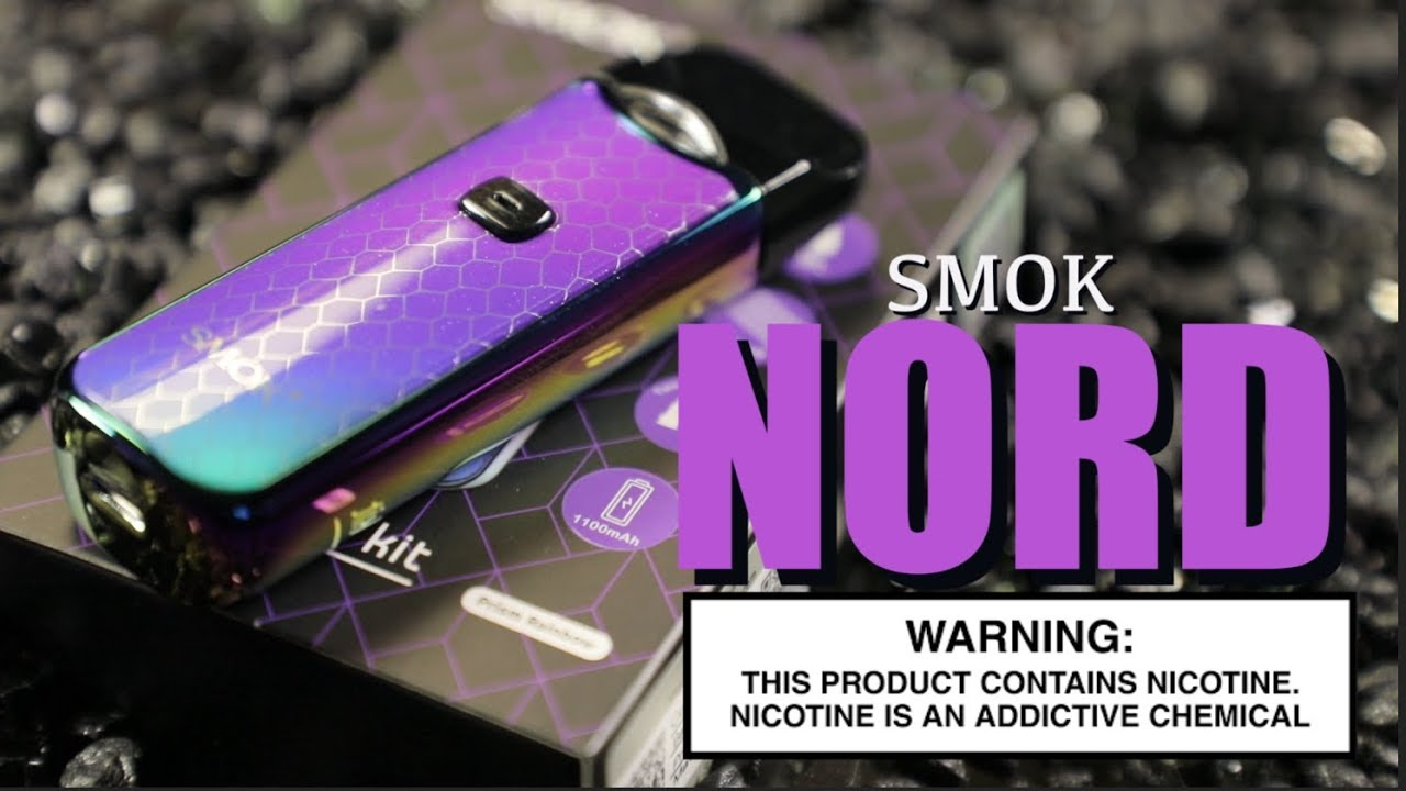NORD Kit By SMOK ~AIO Vape Pod System Review~