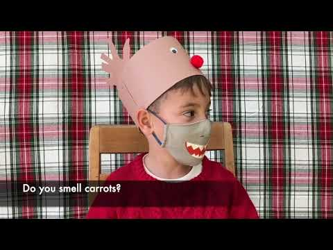 Pope Francis Global Academy Christmas Program Excerpt...Kindergarten corny Christmas Jokes!