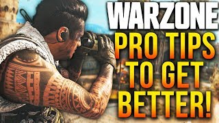 Call Of Duty WARZONE: 14 PRO Tips To Become A BETTER Player!