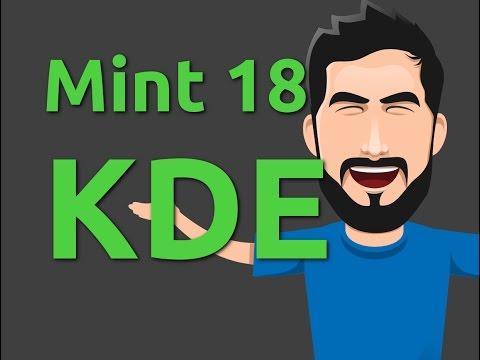 Linux Mint 18 KDE - Overview