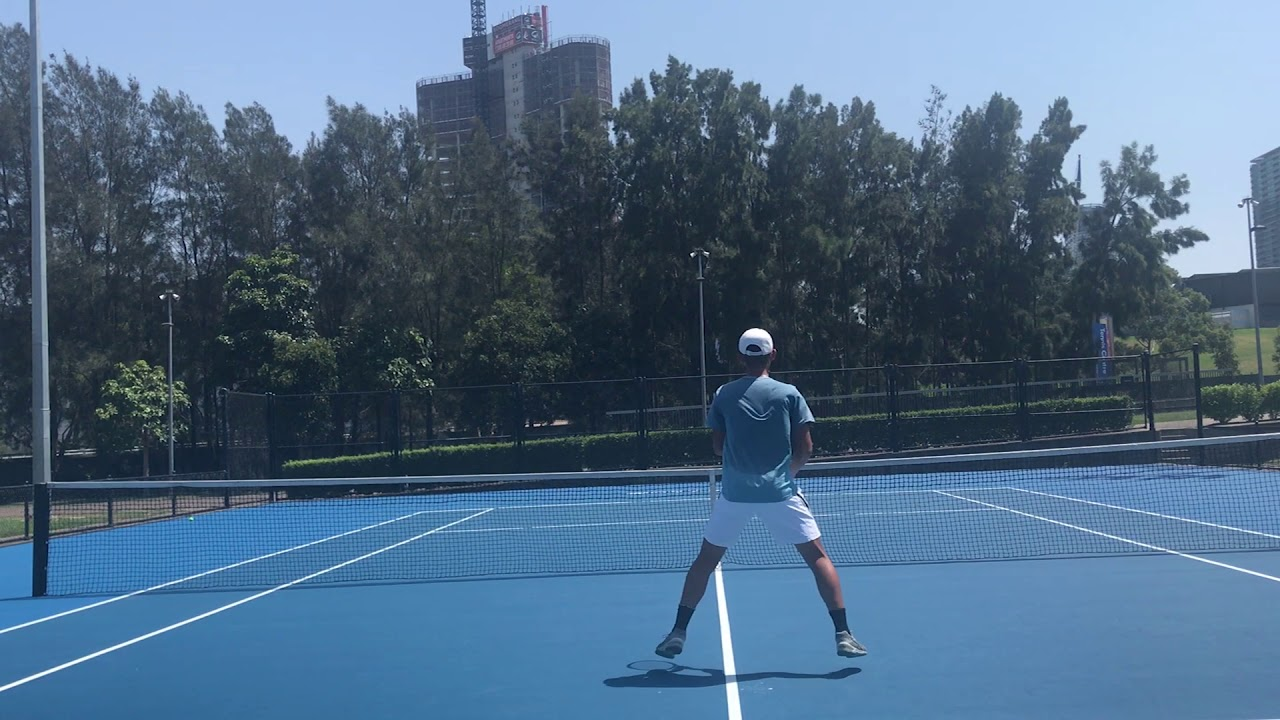 Micheal Zhang 2020 Australian Tennis Recruit Updated Youtube