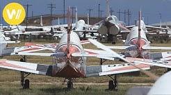 Größter Militär-Flugzeugfriedhof der Welt mit über 4.000 Flugzeugen