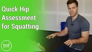 Quick Hip Assessment for Squatting | Movement Fix Monday | Week 6 | Dr. Ryan DeBell