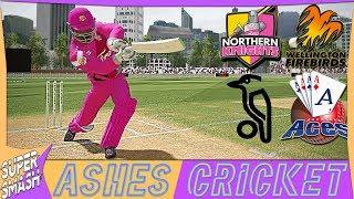 Ashes Cricket Career Mode #70 (NZ Super Smash) New Sponsorship & New Look (4K XB1 X)