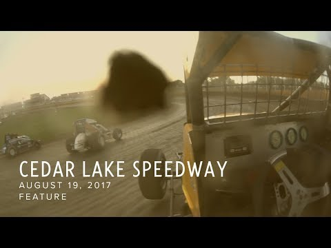 August 19, 2017: Cedar Lake Speedway Feature