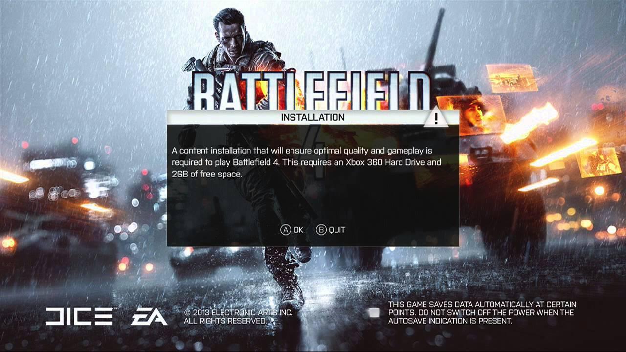Xbox 360 Slim 4gb How to Install Battlef...