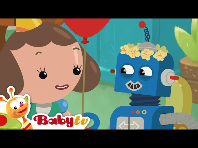 Today is my Birthday 🎂  (Remastered with Lyrics) | Nursery Rhymes & Songs for Kids | BabyTV