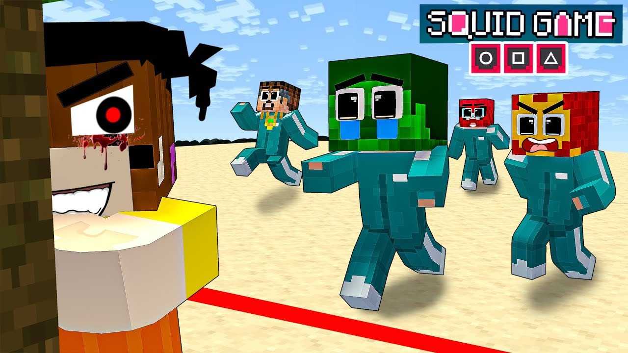 Monster School : Baby Hulk Playing Squid Game Help Mother - Sad Story - Minecraft Animation