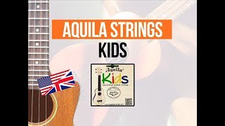 Aquila Kids ukulele strings [EN]