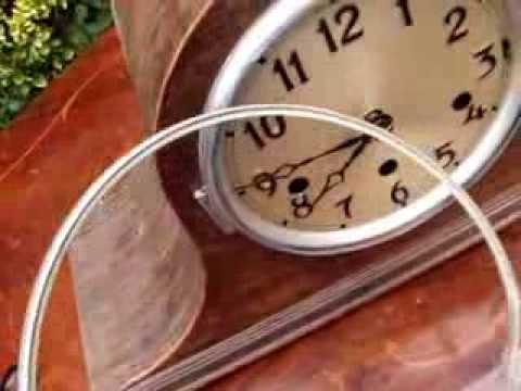 Vintage Old 4 Mantle clock 2  Westminster Striking  Spare Repair Item See Video