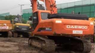 Korean used Daewoo S300 Excavator -- Autowini.com(leaders-023)