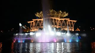 Kuching Waterfront Musical Fountain - Officially launched ! HandClap 141018 Pt.03