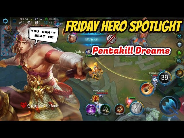 HOW TO DOMINATE AS GIDEON | Full Guide + Build | Friday Hero Spotlight Series | Heroes Evolved