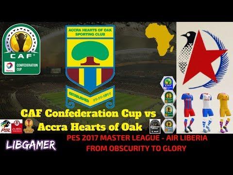 PES 2017 Master League - CAF Confederation Cup vs Accra Hearts of Oak