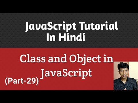 JavaScript tutorial in Hindi | Class and object in JavaScript (Part-29) thumbnail